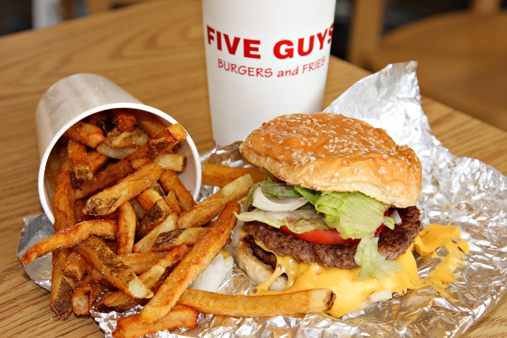 Five Guys New York City
