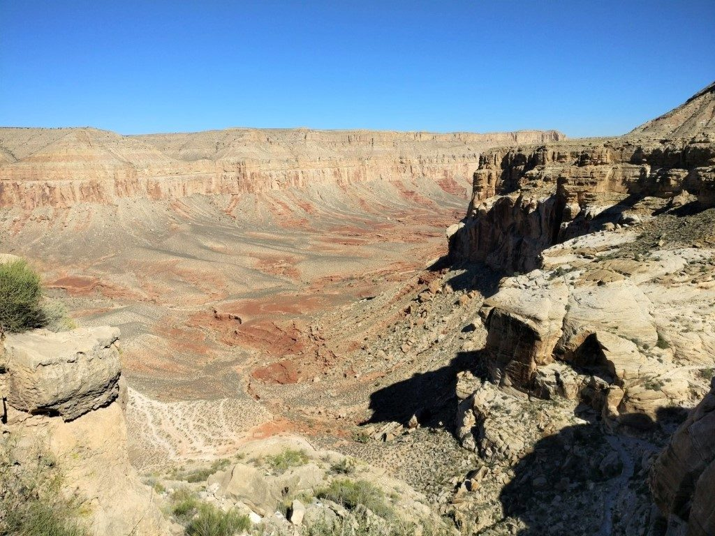 Havasu Falls Trail |  View of the Grand Canyon from the Hualapai Hilltop