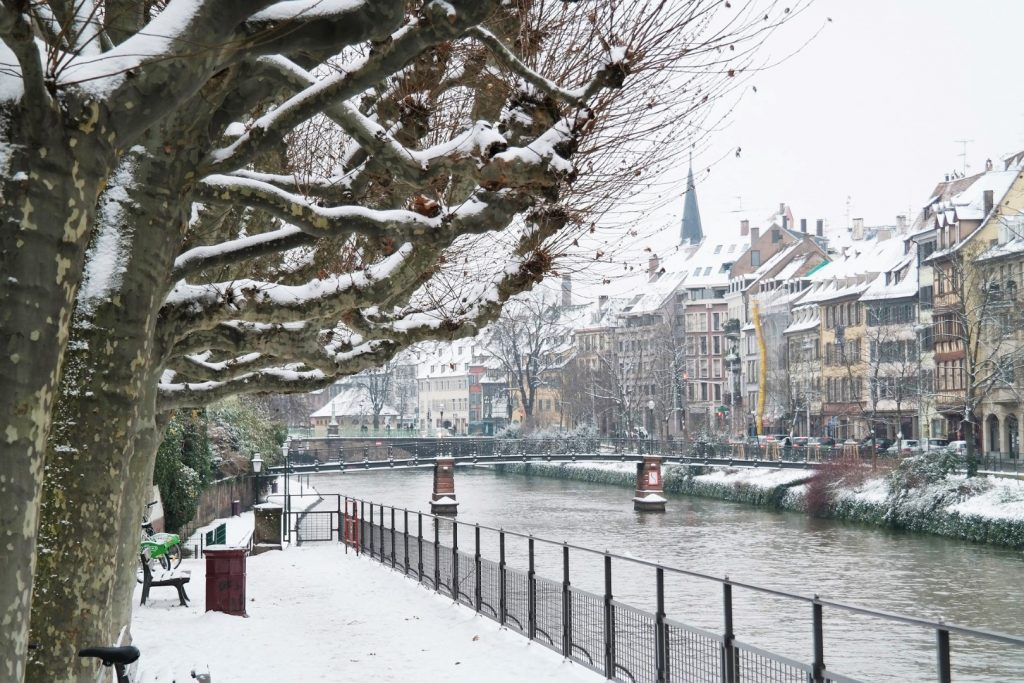 Winter in Strasbourg