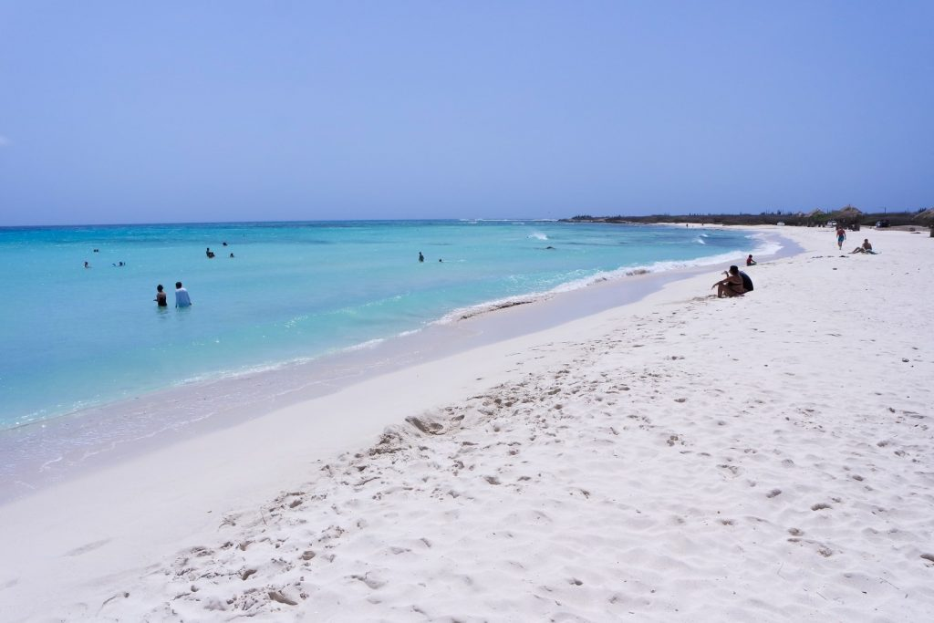 Dream beach Arashi Beach in Aruba