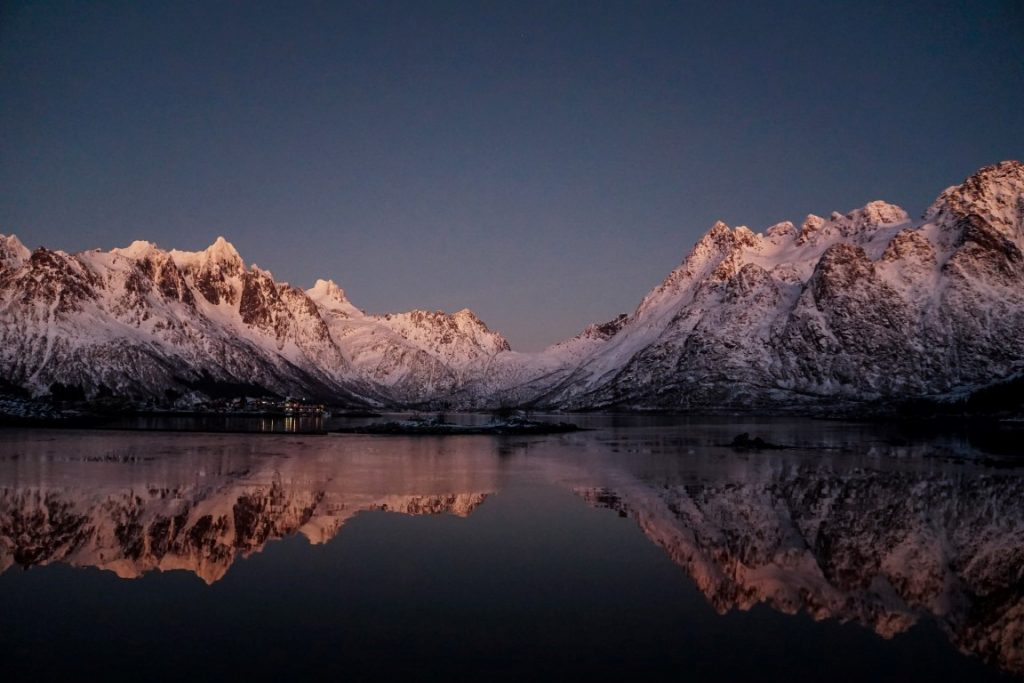 Lofoten Norway |  Reflections in the water