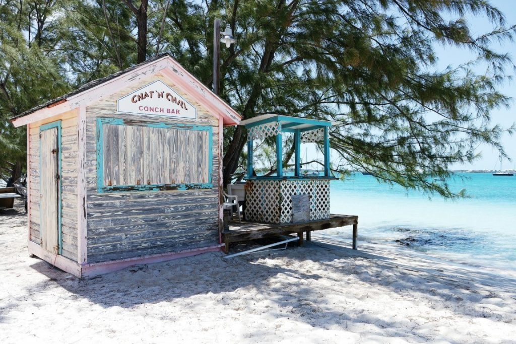Exuma Stocking Island Chat 'N' Chill