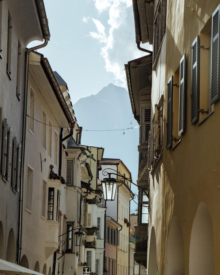 Merano old town