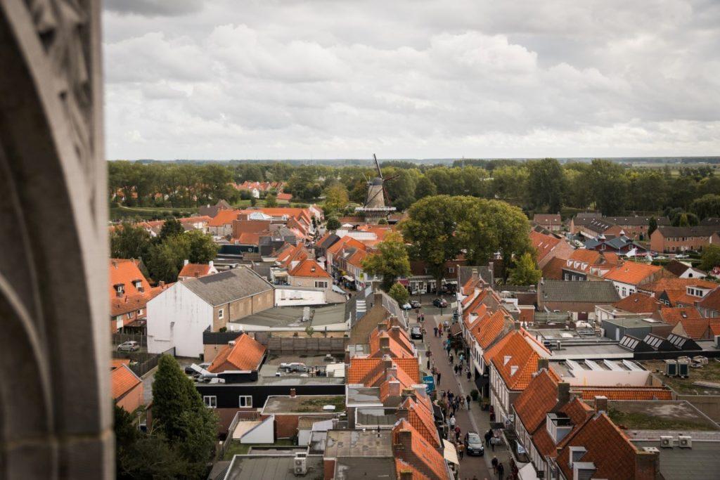 Belfort from Sluis Zeeland