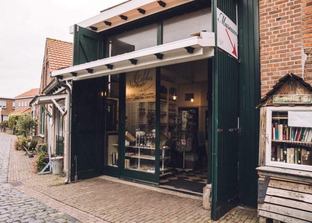 Flemish heritage Groede Zeeland