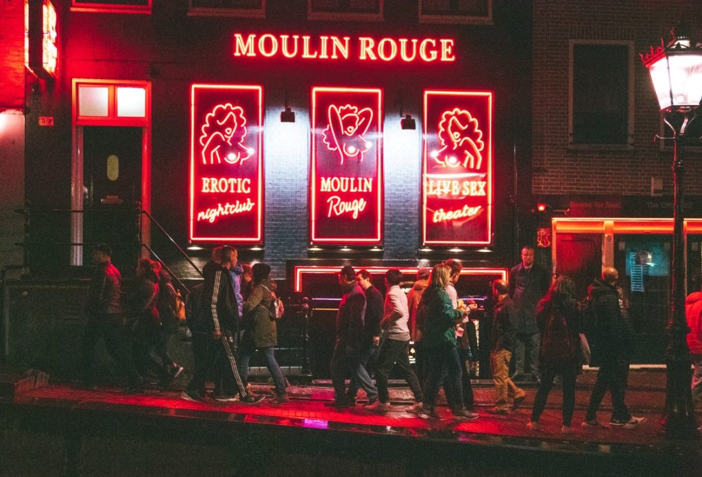 Moulin Rouge in Amsterdam