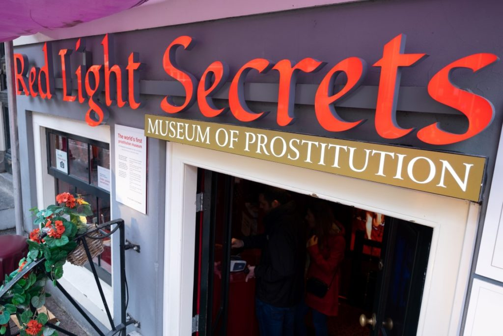 Prostitution Museum Red Light Secrets Amsterdam
